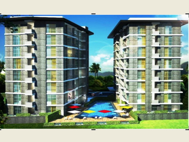 FOR SALE: CITY GARDEN PRATUMNAK, STUDIO -2BED - PRATUMNAK HILL.