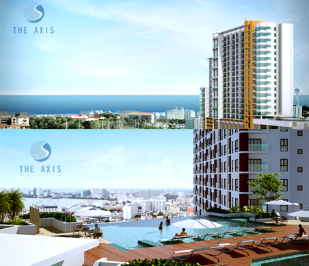 FOR SALE: THE AXIS PATTAYA BLD.A, INVESTMENT OPPORTUNITY NO.1