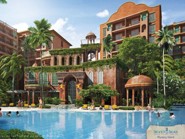 FOR SALE: SEVEN SEAS CONDO RESORT - JOMTIEN