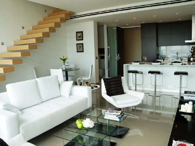 water front pattaya condo for sale 1 bedroom duplex