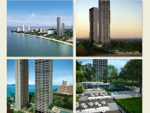 RESALE: ZIRE WONGAMAT TOWER - 1BEDROOM, TOWER B - NAKLUA, PATTAYA.