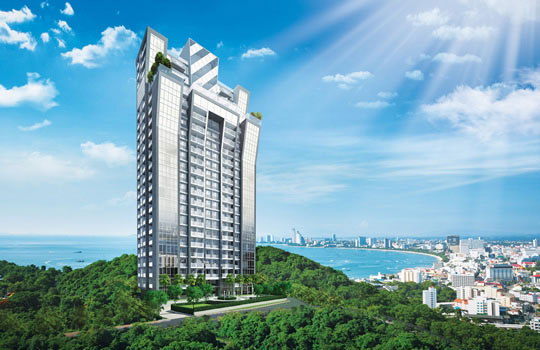 FOR SALE: THE VISION, PATTAYA, PRATUMNAK - HIGH RISE CONDOMINIUM