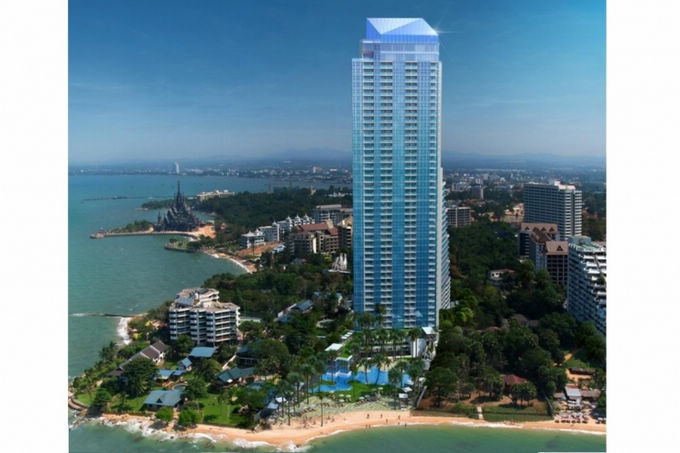FOR SALE: THE PALM, WONGAMAT BEACH, PATTAYA