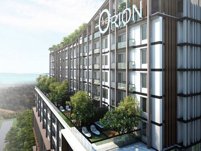 Orion Pattaya Standard Type 1 Bedroom _ 33.5 Sqm