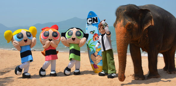Turner Broadcasting Presents the Cartoon Network's First Themed-Waterpark in Pattaya in 2013