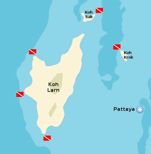 Koh Larn, the Wonderful Little Island off the Pattaya Coast