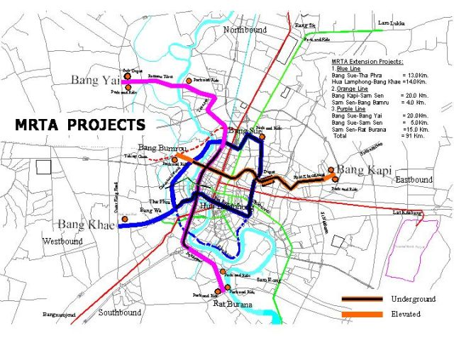 National Housing Authority (NHA) Plans Developing Condominium Projects Near MRT Purple Line